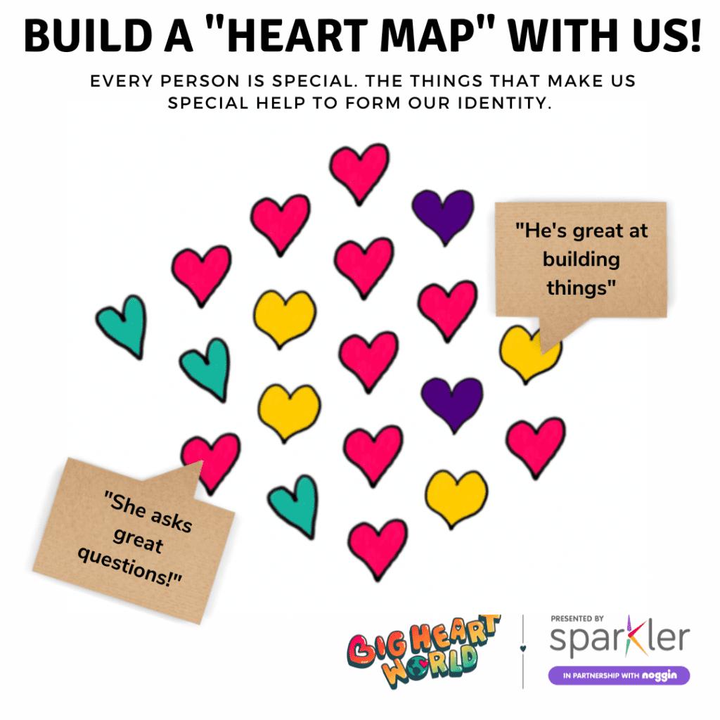 Interactive Heart Map