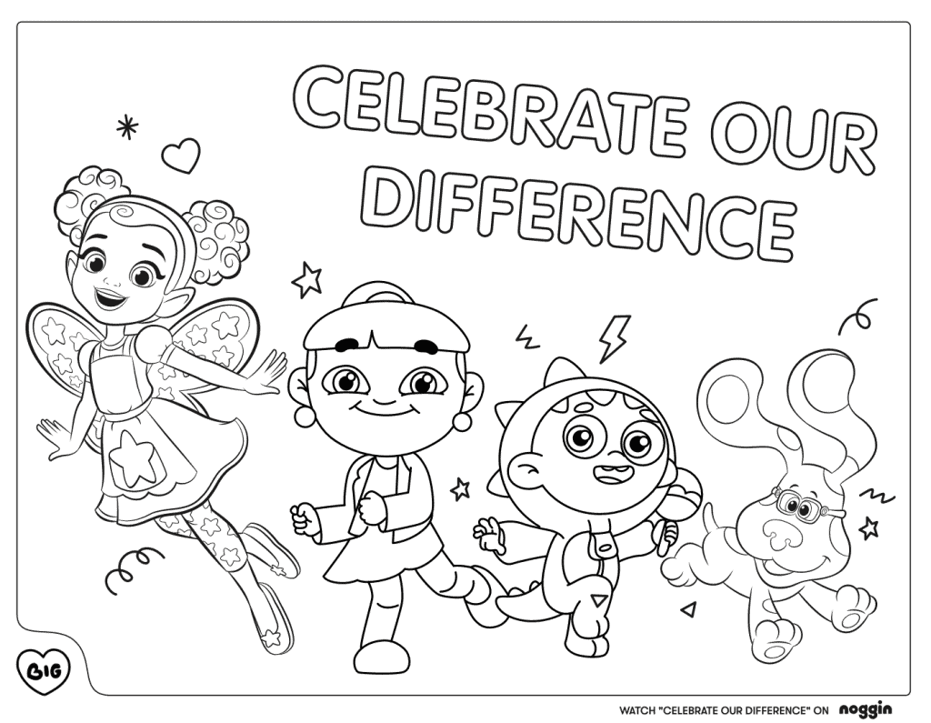 """""""Celebrate Our Difference"""" Lyric Coloring Book"""
