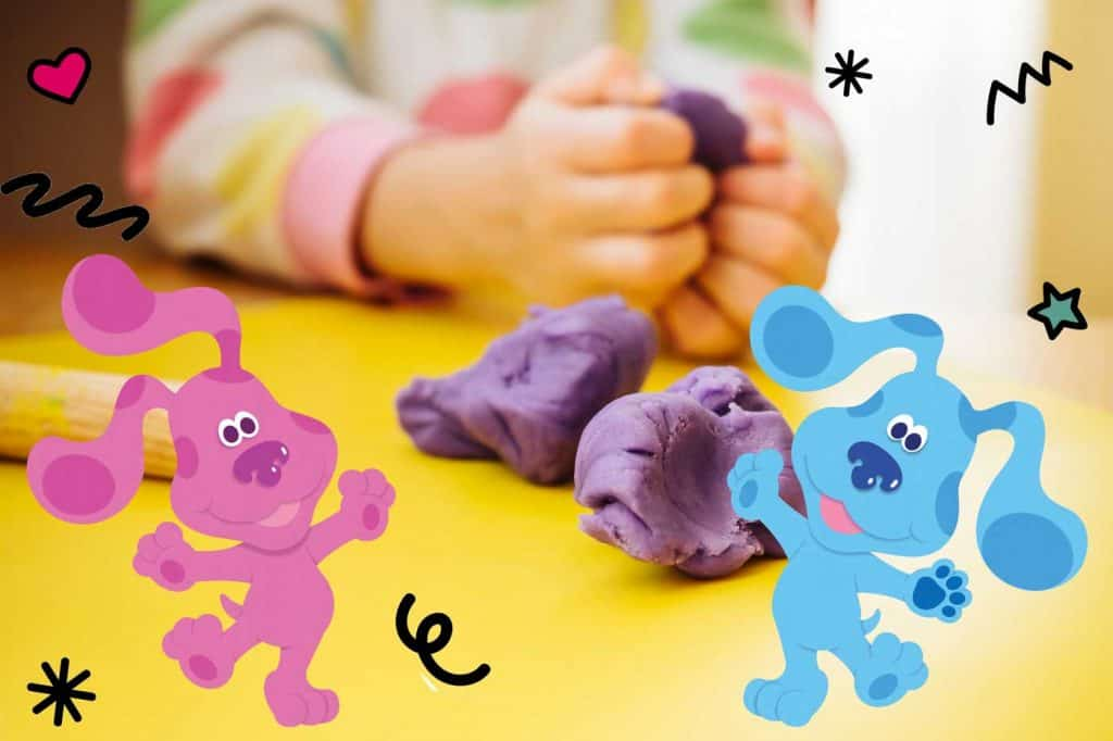 Play Dough Portions